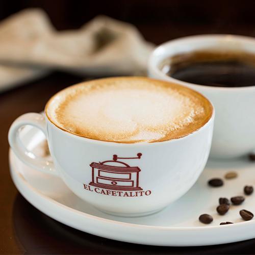 Café Americano de 12 onz. más Capuccino de 12 onz. por solo  Q20.00