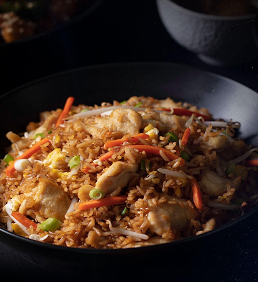 2x1 en chicken Fried Rice